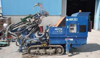HÜTTE HBR 202 – Micropiling Drilling Equipment