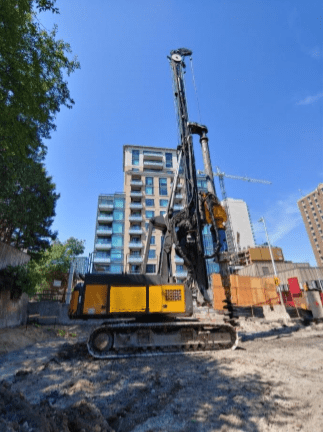 Delmag RH34 – Rotary piling rig full