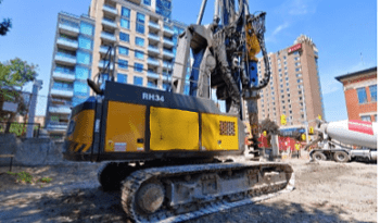 Delmag RH34 – Rotary piling rig