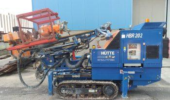 HÜTTE HBR 202 – Micropiling Drilling Equipment